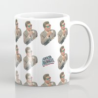 3d Mugs featuring 3D by Greta Bungle