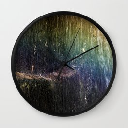 Cascade rainbow Wall Clock