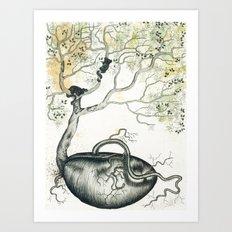 The Seed Art Print