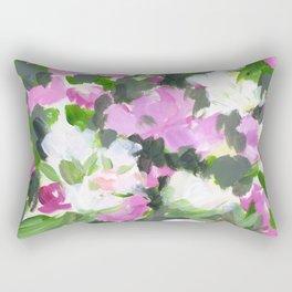 abstract flower painting Rectangular Pillow