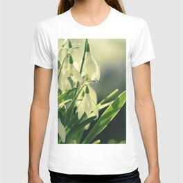 Snowdrops impression from the garden T-shirt