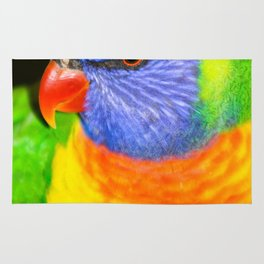 Rainbow Lorikeet Rug
