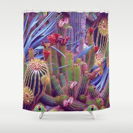 Hazardous spiky plant Shower Curtain