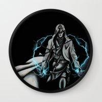 jedi Wall Clocks featuring Jedi by ED Art Studio