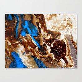 One Of Many Lake Pools Canvas Print