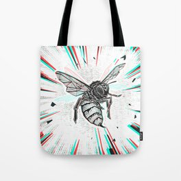 This wasp is pissed! Tote Bag