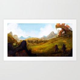 Outskirts Art Print