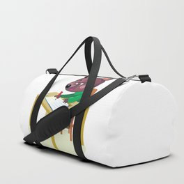 Bear and homework Duffle Bag