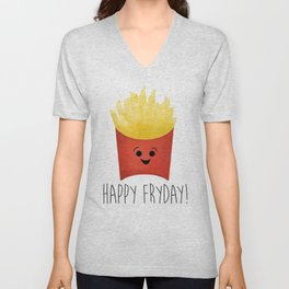 Happy Fryday! Unisex V-Neck