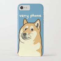 doge iPhone & iPod Cases featuring Doge by evannave