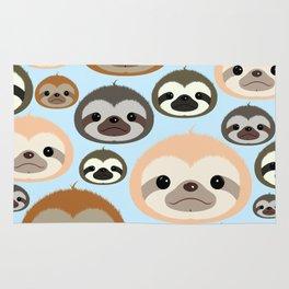 Sloth everywhere! Rug