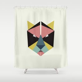 blooming tiger Shower Curtain
