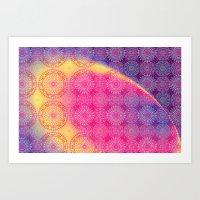 Mandala - Galaxy Art Print