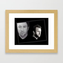 Partners Framed Art Print