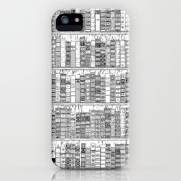 The Library II iPhone Case