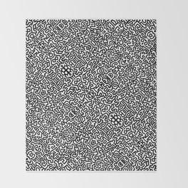 wall art K.Haring Throw Blanket