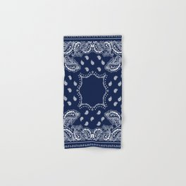 Bandana - Navy Blue - Boho Hand & Bath Towel