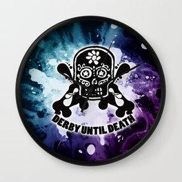 Roller Derby Por Vida Wall Clock