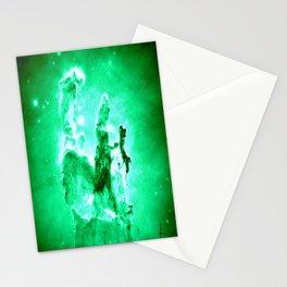 NEbula. : Green Pillars of Creation Stationery Cards