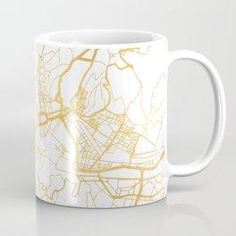 FLORENCE ITALY CITY STREET MAP ART Coffee Mug