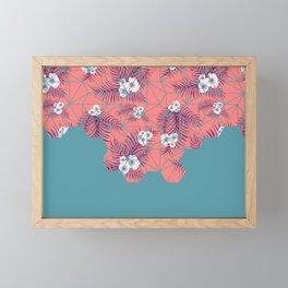 Tropical Fluo Tiles #society6 #decor #buyart Framed Mini Art Print