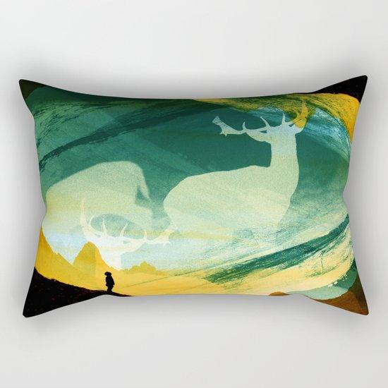 Native Dreamcatcher Rectangular Pillow