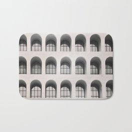 Rome Black and white photography Modern architecture Urban photo City architecture Italy travel Bath Mat