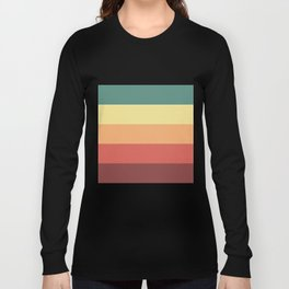 Retro Stripes Long Sleeve T-shirt