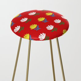 Exotic flowers Counter Stool