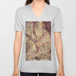 Tree of wisdom Unisex V-Neck
