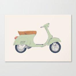 Italian Moto Canvas Print