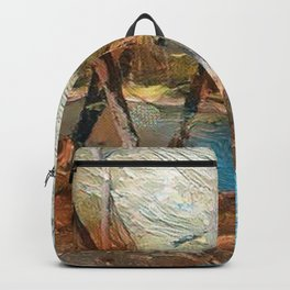 """""""Stream And Trees"""" Backpack"""