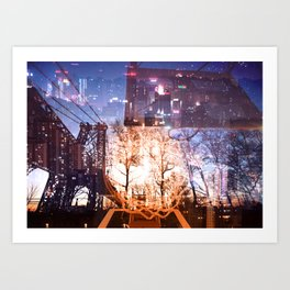 Big Apple Playground Art Print