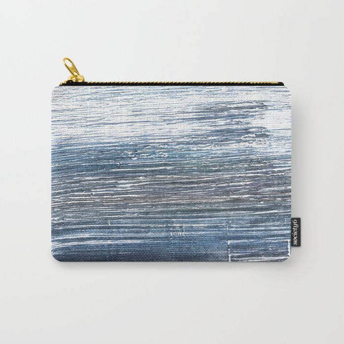 Dark electric blue Carry-All Pouch