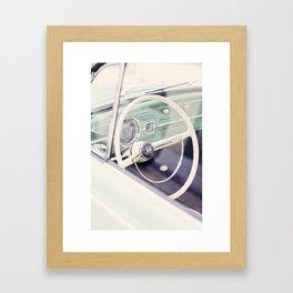 Volante escarabajo.  Framed Art Print