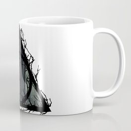 Deathly Hallows - Prongs in the forest with brenches | Marauders - Potterhead - Patronus Coffee Mug