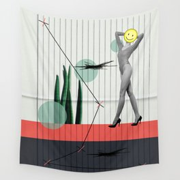 wrong path to selflessness Wall Tapestry