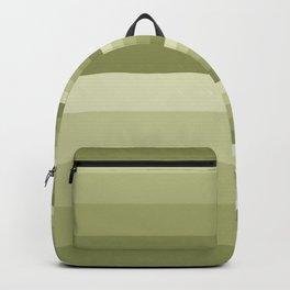 Olive striped Backpack