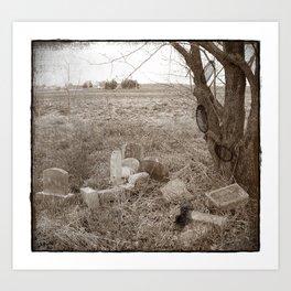 The Forgotten Stones Art Print