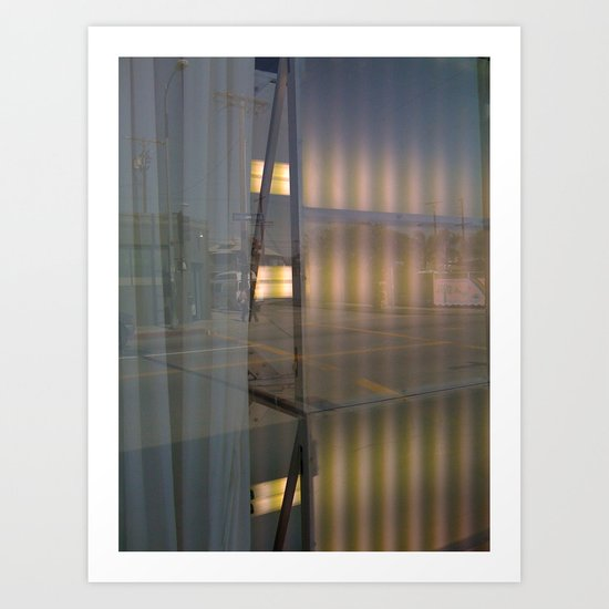 Curtains Art Print