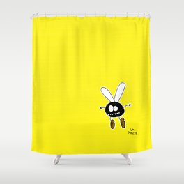 La mouche Shower Curtain
