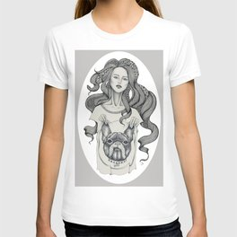 girl&dog T-shirt