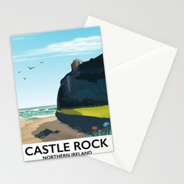 castle rock northern ireland Stationery Cards