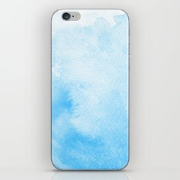 Blue is the Warmest Color iPhone Skin