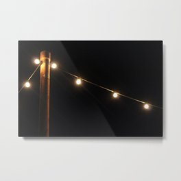 Light the Night Sky Metal Print