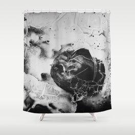 Kiwi Analog Shower Curtain