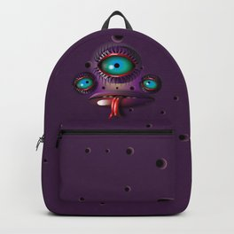 Purple Monster Backpack