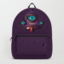 Purple Monster Backpack