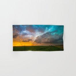 Glorious - Stormy Sky and Kansas Sunset Hand & Bath Towel