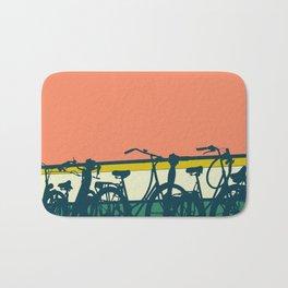 On your bike (Grapefruit) Bath Mat